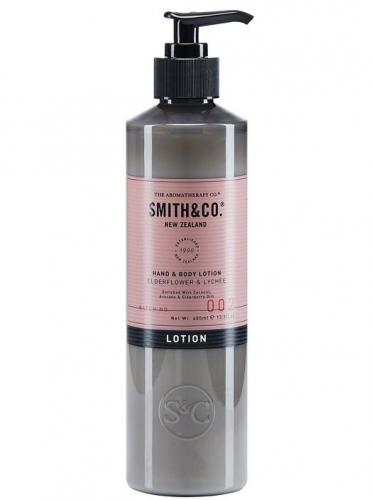 Smith & Co Hand & Body Lotion 400ml Elderflower & Lychee