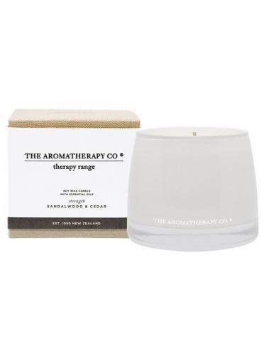 Therapy Candle Strength Sandalwood & Cedar 260g