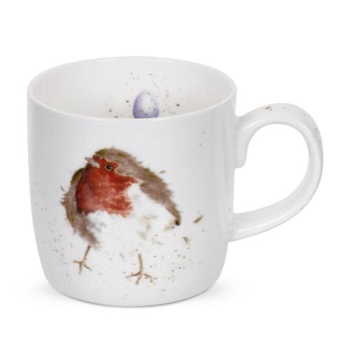 Wrendale Mugg Robin Garden Friend
