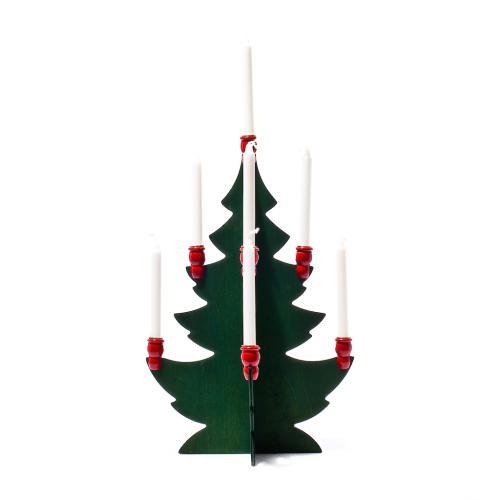 Trägran för Julgransljus Stor 33cm