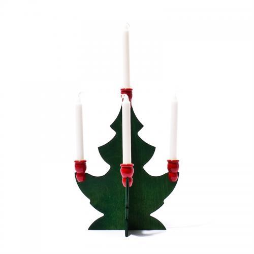 Trägran För Julgransljus Mellan 21cm