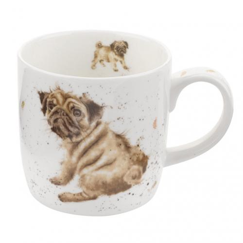 Wrendale Mugg Pug Love