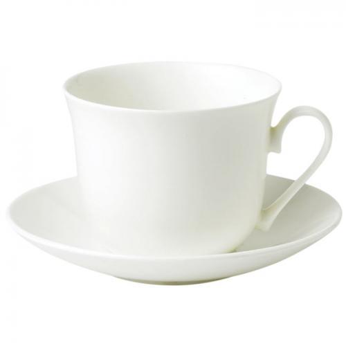 Roy Kirkham frukostkopp med fat vit
