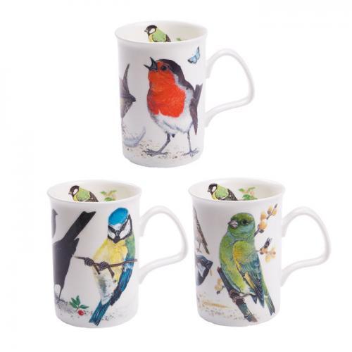 Roy Kirkham Garden Birds Mugg