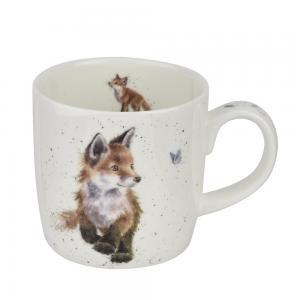 Wrendale Mugg Born To Be Wild Fox