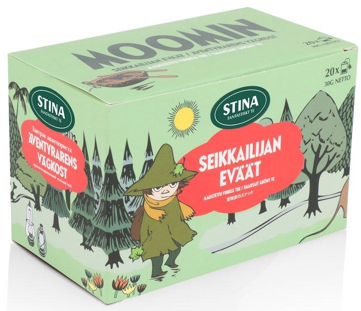 Mumintepåsar Adventurers Snacks Grönt Te