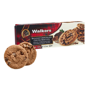 Walkers Belgian Chocolate Chunk Biscuits