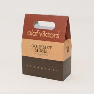 Olof Viktors Gourmet Musli 800g i box