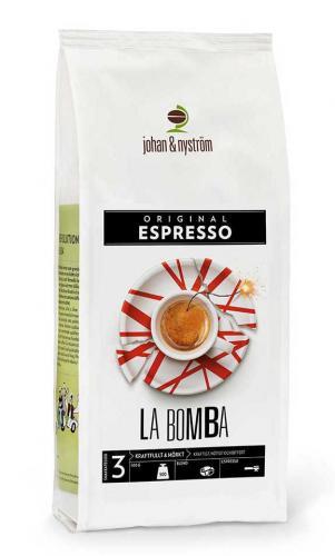 Espresso La Bomba 500g Förpackning