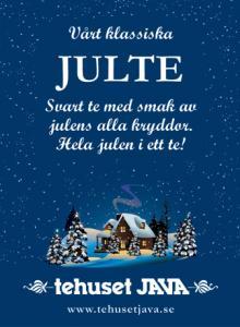 Tehuset Javas Svarta Julte Förpackning 100g
