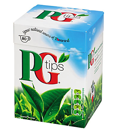 PG tips tepåse tepåsar 80-pack