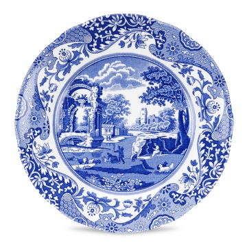 Spode Blue Italian Tallrik 27 cm