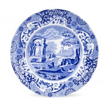 Spode Blue Italian Tallrik 23 cm Blå
