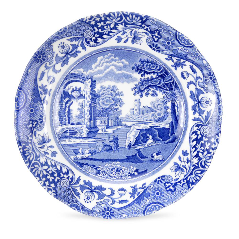 Spode blue italian tallrik