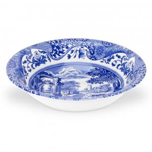 Spode Blue Italian Skål 15 cm Blå
