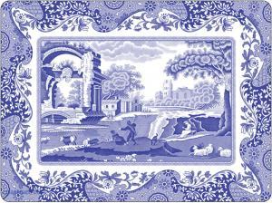 Spode Blue Italian Tallriksunderlägg