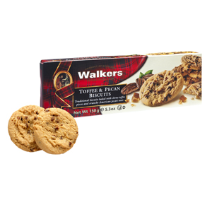 Walkers Toffee & Pecan 150g