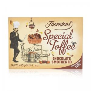 Thorntons special toffee Chocolate smothered