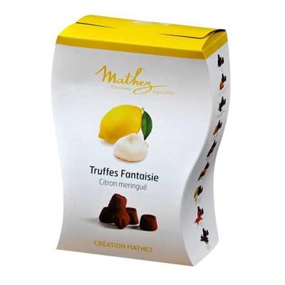 Mathez choklad tryfflar citron maräng