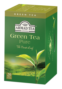 Ahmad Green Tea Pure Påsar