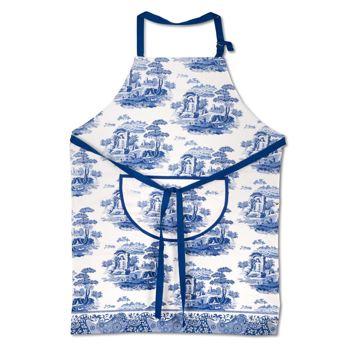 Spode Blue Italian förkläde