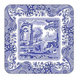 Spode Blue Italian Glasunderlägg