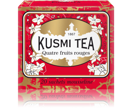Kusmi Four Red Fruits Tepåsar
