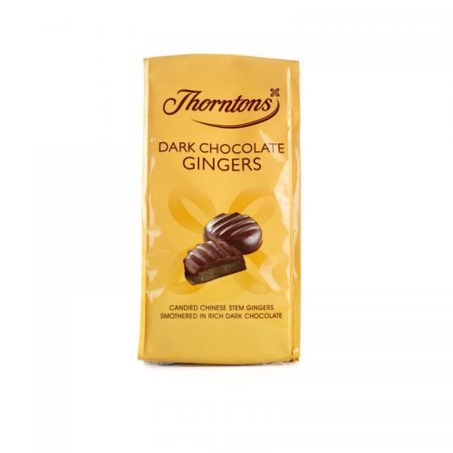 Thorntons Dark Chocolate Gingers 100g