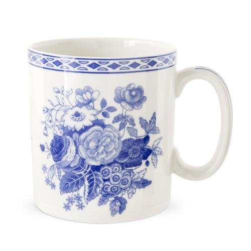 Spode Archive Blue Room Blue Rose