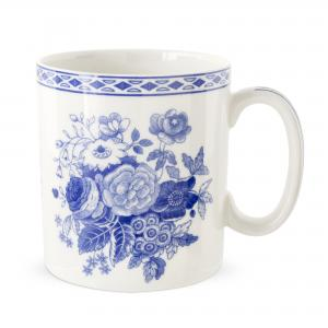 Spode Archive Blue Room Blue Rose