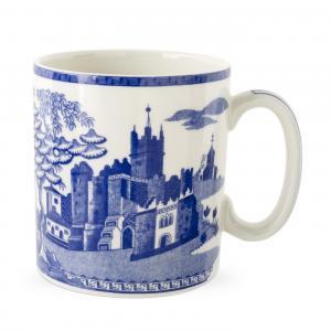 Spode Archive Blue Room Gothic Castle
