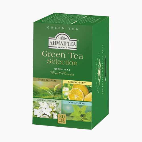Ahmad Green Tea Selection