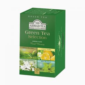 Ahmad Green Tea Selection