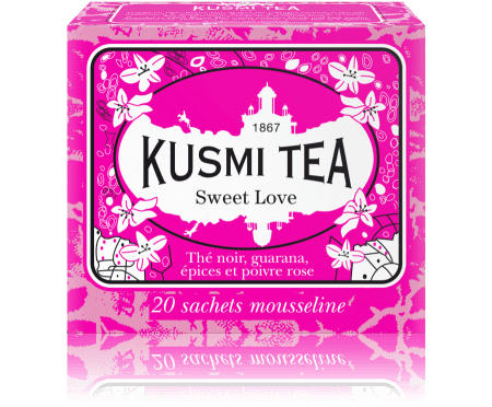 Kusmi Sweet Love Tepåsar