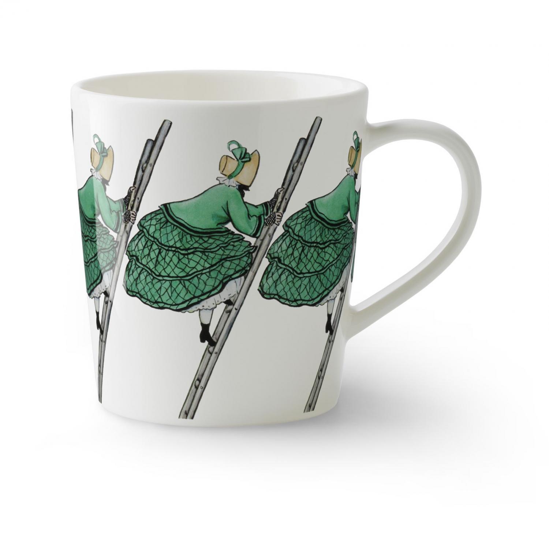 Elsa Beskow Mugg Tant Grön med öra