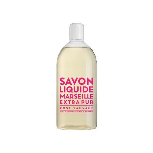 Savon de Marseille Rose Sauvage REFIL