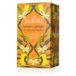 Pukka Lemon Ginger Manuka