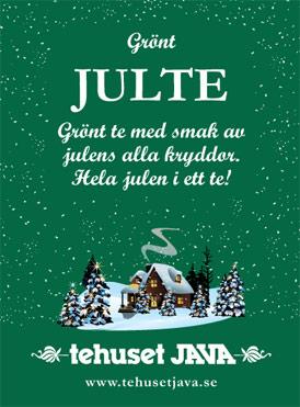 Tehuset Javas Gröna Julte Förpackning 100g