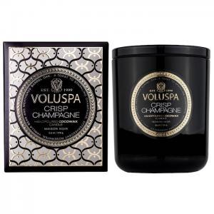 Voluspa Crisp Champagne Boxed Candle 60h