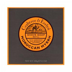 Crabtree & Evelyn Moroccan Myrrh Shave Soap refill 100g