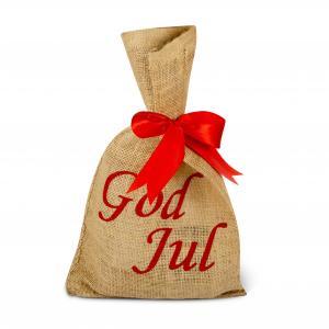 Presentpåse jutesäck