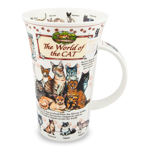 Mugg dunoon world of cats katter kattälskare