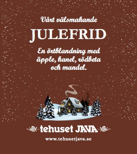 Tehuset Javas Julefrid Förpackning 100g