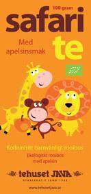 Ekologiskt Safari Te Förpackning 100g