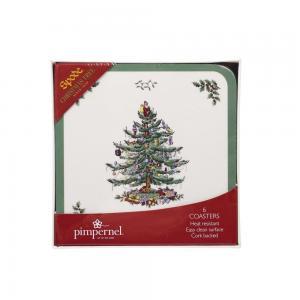 Spode Underlägg Små Christmas Tree
