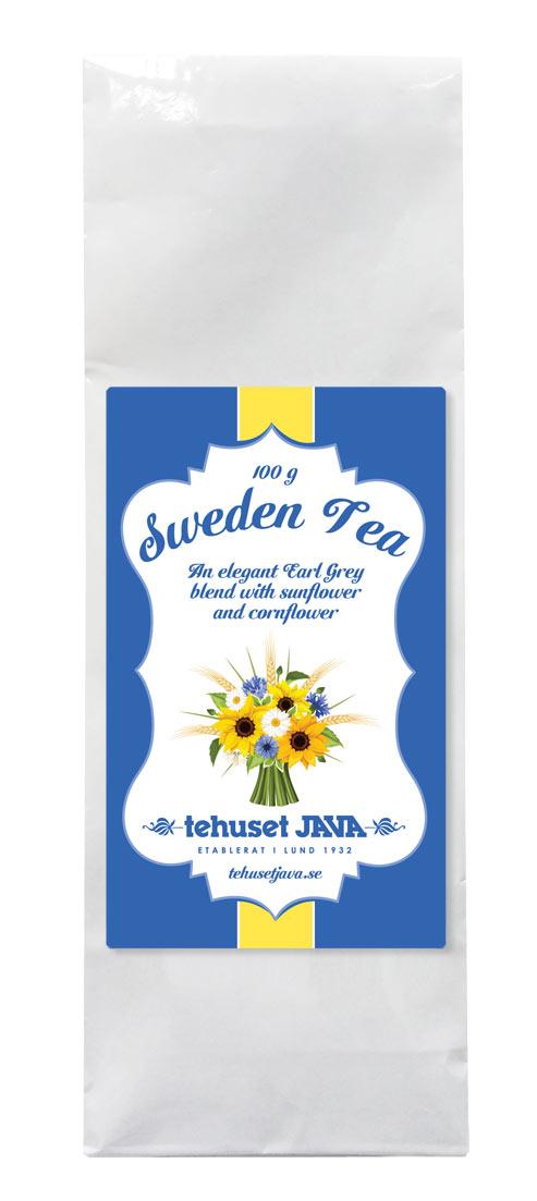 Tehusets Sweden Tea Förpackat 100g