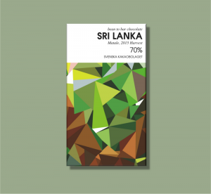 Svenska Kakaobolaget Sri Lanka 70% 50g