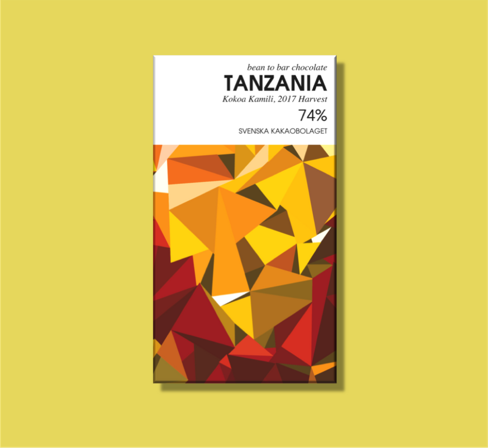 Svenska Kakaobolaget Tanzania 74% 50g