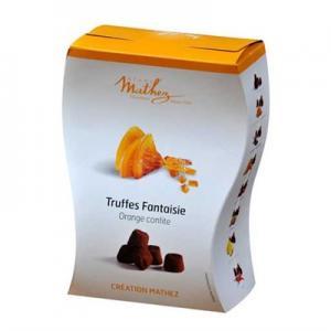 Mathez choklad tryfflar apelsin