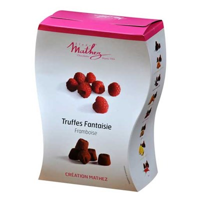 Mathez choklad tryfflar hallon